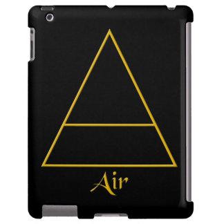 Símbolo pagano del elemento del aire de Falln Funda Para iPad