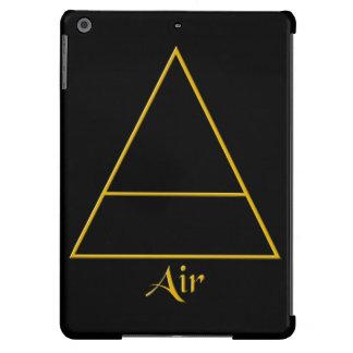 Símbolo pagano del elemento del aire de Falln Funda Para iPad Air