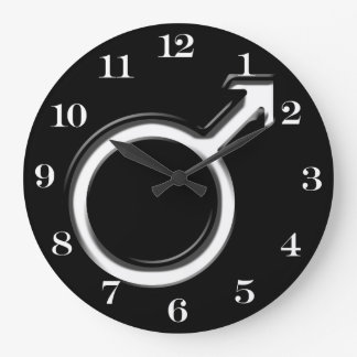 Símbolo para el varón relojes