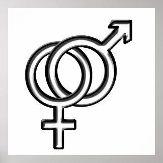 Símbolo para el varón y la hembra