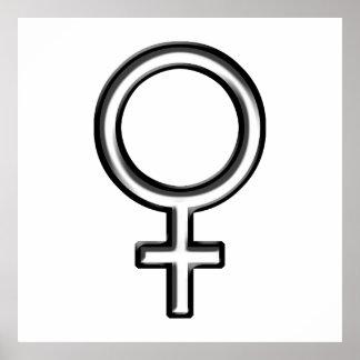 Símbolo para la hembra