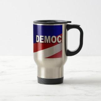 Símbolo patriótico de Demócrata Taza De Café