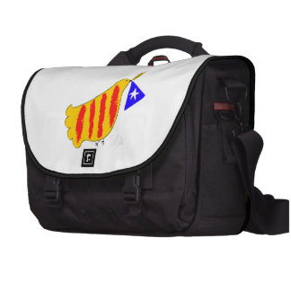 Símbolo patriótico del bolso, paloma de la liberta bolsas para ordenador