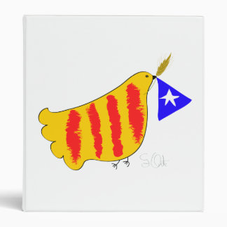 Símbolo patriótico, paloma de la libertad de Catal