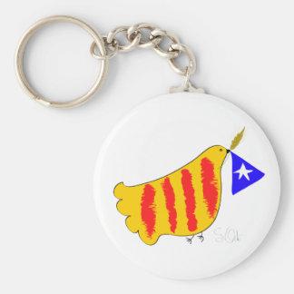 Símbolo patriótico, paloma de la libertad de Catal Llavero Personalizado
