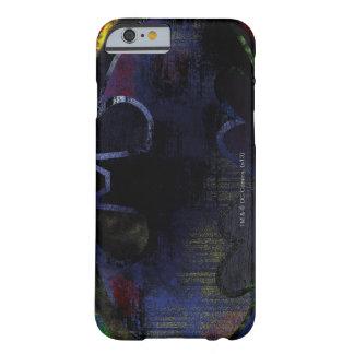 Símbolo pintado del palo funda de iPhone 6 slim