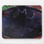 Símbolo pintado del palo mousepad