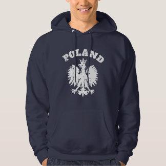 Símbolo polaco de Eagle del orgullo de los hombres Suéter Con Capucha