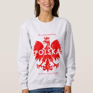 Símbolo polaco de Polonia Rzeczpospolita Polska Remera