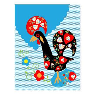 Símbolo portugués del gallo postal
