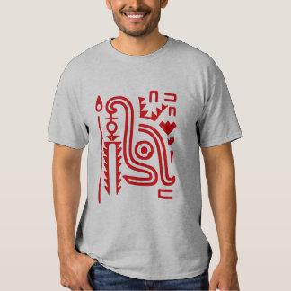 Símbolo principal del maya remeras