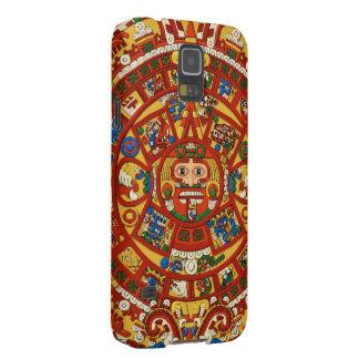 Símbolo profético azteca maya del maya carcasa galaxy s5