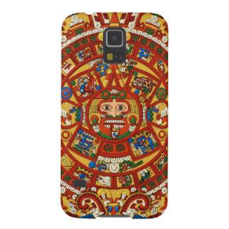 Símbolo profético azteca maya del maya fundas de galaxy s5