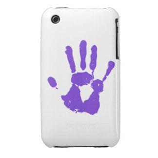 Símbolo púrpura de los derechos de los homosexuale iPhone 3 Case-Mate cobertura