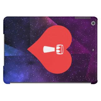 Símbolo que teclea de la mano funda para iPad air