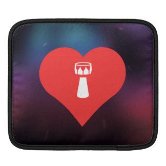 Símbolo que teclea de la mano funda para iPads