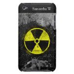Símbolo radiactivo del Grunge iPod Touch Case-Mate Fundas