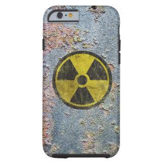 Símbolo radiactivo del Grunge Funda Resistente iPhone 6