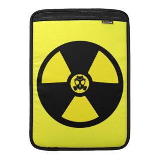 Símbolo radiactivo funda  MacBook
