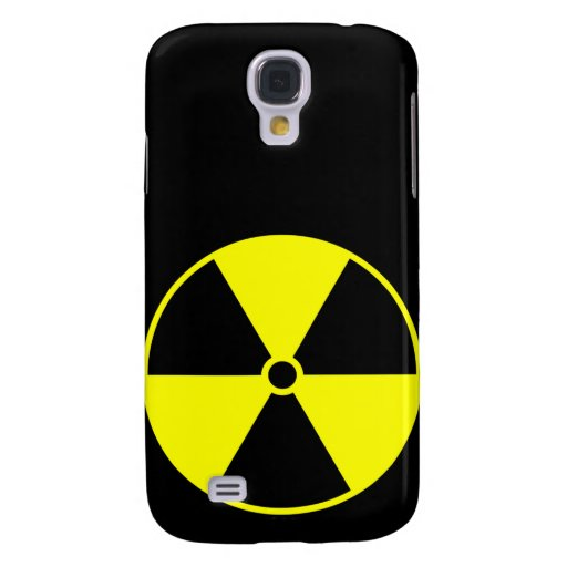 Símbolo radiactivo funda para galaxy s4