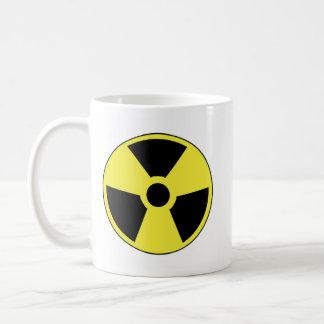 Símbolo radiactivo taza clásica