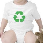 Símbolo reciclado camisetas