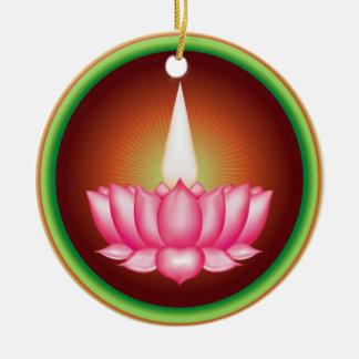 Símbolo religioso de Dharmic del indio de Ayyavazh Ornamentos De Reyes