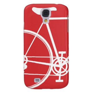 Símbolo rojo 3G de la bici Funda Para Galaxy S4