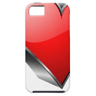 símbolo rojo del hogar 3D iPhone 5 Funda