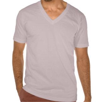 Símbolo rojo del horóscopo de los géminis camisetas