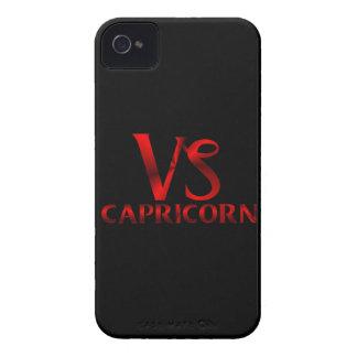 Símbolo rojo del horóscopo del Capricornio Case-Mate iPhone 4 Protectores