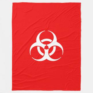Símbolo rojo y blanco del Biohazard