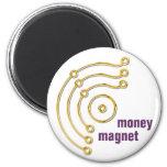 Símbolo RUNA/ORO, dinero, imán