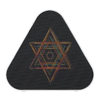 Símbolo sagrado de la geometría del Hexagram Altavoz Bluetooth