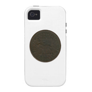 Símbolo sin fecha de la guerra civil vibe iPhone 4 funda