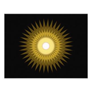 símbolo soleado anuncios