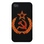 Símbolo soviético iPhone 4 fundas