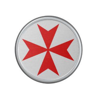 símbolo templar de la religión de la Cruz Roja de Altavoz