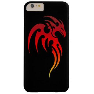Símbolo tribal de levantamiento de Phoenix Funda De iPhone 6 Plus Barely There