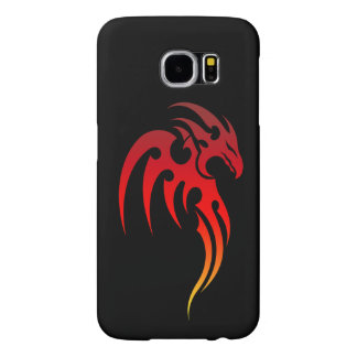 Símbolo tribal de levantamiento de Phoenix Fundas Samsung Galaxy S6