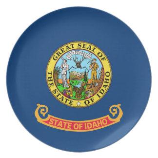 símbolo unido bandera de la república de América Platos