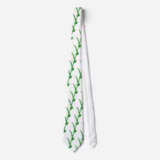 Símbolo vegetariano corbatas