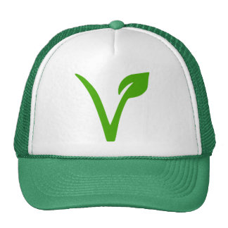 símbolo vegetariano, vegetarianos, veggie, gorras