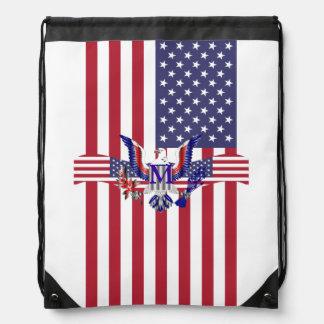 Símbolo y bandera de American Eagle Mochilas