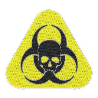 Símbolo y cráneo del Biohazard Altavoz Bluetooth