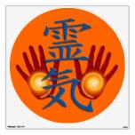 Símbolo y manos de REIKI
