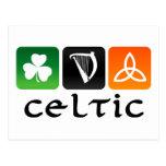 Símbolos célticos postal