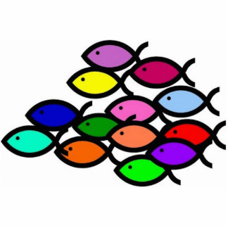 Símbolos cristianos de los pescados - escuela del adorno fotoescultura