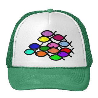 Símbolos cristianos de los pescados - escuela del gorras