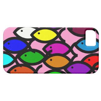 Símbolos cristianos de los pescados - escuela del iPhone 5 carcasas